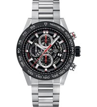 Tag Heuer Car2a1w.Ba0703 Carrera Stainless Steel And Ceramic Chronograph Watch