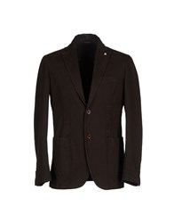 Nardelli Suits And Jackets Blazers Men Dark Brown