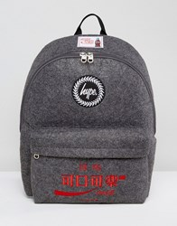 Hype X Coca Cola Backpack In Charcoal Grey