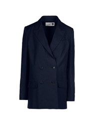 8 Suits And Jackets Blazers Women Dark Blue