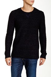 Michael Stars Rolled Edge Marled Knit Sweater Multi