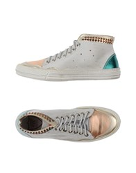 Htc Footwear High Tops And Trainers Women Light Grey