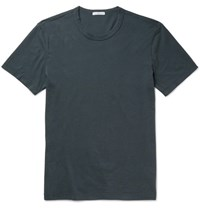 James Perse Cotton Jersey T Shirt Green