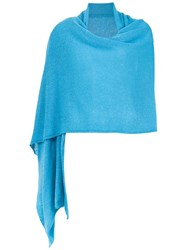 Cecilia Prado Soft Shawl Blue