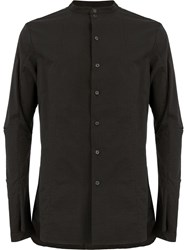 Masnada Fitted Shirt Black