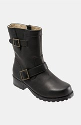 Softwalk 'Bellville' Boot Black Smooth Leather