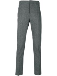 Al Duca D'aosta 1902 Tailored Trousers Polyamide Virgin Wool Grey