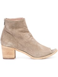 Officine Creative Resnais 24 Ankle Boots Women Calf Leather 38 Nude Neutrals