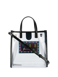 Versus Sheer Tote Bag Black