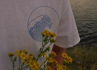 Giant Wave T Shirt By Ribbedshop On Etsy