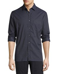 Billy Reid John T Standard Fit Shirt Indigo
