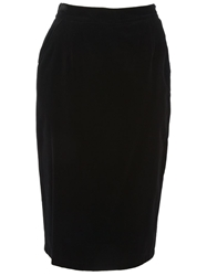 Gianni Versace Vintage Classic Skirt Black