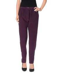 Local Apparel Casual Pants Purple