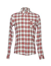 Aglini Shirts Red