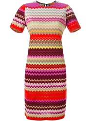 Missoni Zig Zag Print Shift Dress Multicolour