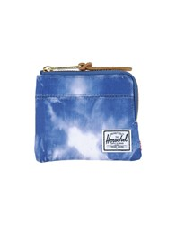 The Herschel Supply Co. Brand Small Leather Goods Coin Purses Men Azure