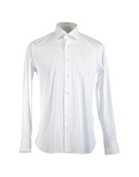 Caruso Long Sleeve Shirts White