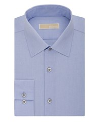 Michael Michael Kors Slim Fit Dress Shirt Soft Blue