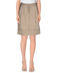 Fabiana Filippi Skirts Knee Length Skirts Women Grey
