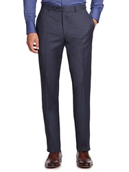 Jack Victor Collection Wool Trousers Blue