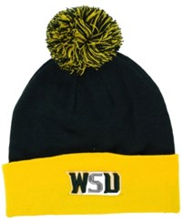 Top Of The World Wright State Raiders 2 Tone Pom Knit Hat
