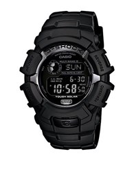 G Shock Mens Blackout Atomic Solar Watch