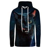 Aloha From Deer Black Cat Hoodie