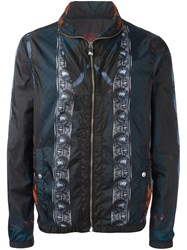 Versus 'Macro Plinth' Print Jacket Multicolour