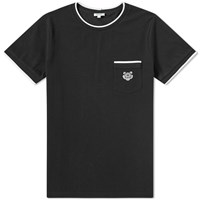 Kenzo Tiger Pocket Tee Black
