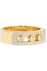 Messika Move Noa 18 Karat Gold Diamond Ring