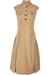 Marc Jacobs Silk Shantung Midi Dress