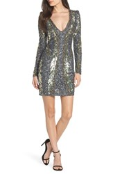Mac Duggal Embellished Minidress