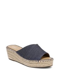 Franco Sarto Pinot Denim Espadrille Wedges