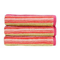 Christy Bamford Stripe Towel Bright Bath Towel