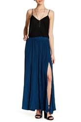 14Th And Union Maxi Skirt Petite Blue