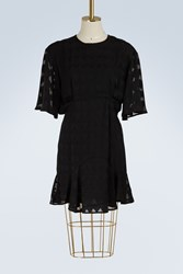 Maison Kitsune Midi Dress Black
