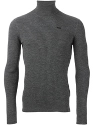 Dsquared2 Fitted Sweater Grey