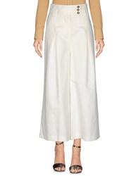 Red Valentino Redvalentino Casual Pants Ivory