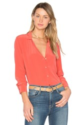 Equipment Adalyn Button Up Coral