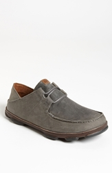 Olukai 'Ohana' Lace Up Men Storm Grey Dark Wood
