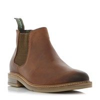 Barbour Penshaw Low Chelsea Boots Tan