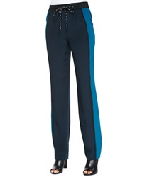 Magaschoni Colorblock Relaxed Pants Small 4
