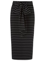 Andrea Marques High Waisted Pencil Skirt Black