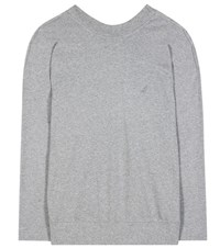 Balenciaga Oversized Sweatshirt Grey