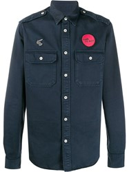 Vivienne Westwood Anglomania Embroidered Patch Shirt 60