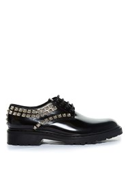Saint Laurent Studded Leather Lace Up Shoes