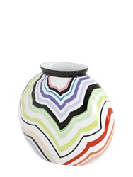 Missoni By Richard Ginori 1735 Zago Porcelain Vase