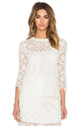 Candela Bozeman Top White