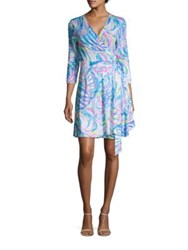 Lilly Pulitzer Emilia Wrap Dress Multicolor