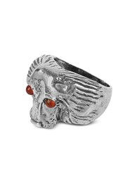 Forzieri Exclusives Vintage Setter Sterling Silver Ring